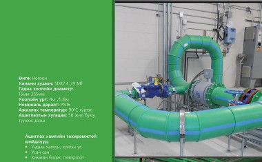 Ундны халуун, хүйтэн усны шугам хоолойн систем